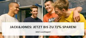 Jack & Jones Sale mit bis zu 72% Rabatt bei Jeans-Direct!