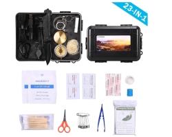 TOMSHOO 23-in-1 Survival Kit mit Erste Hilfe Set für 14,99 Euro