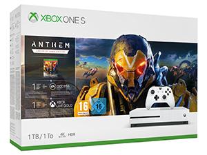 Microsoft Xbox One S 1TB Anthem Bundle für nur 197,86 Euro (statt 279,- Euro)