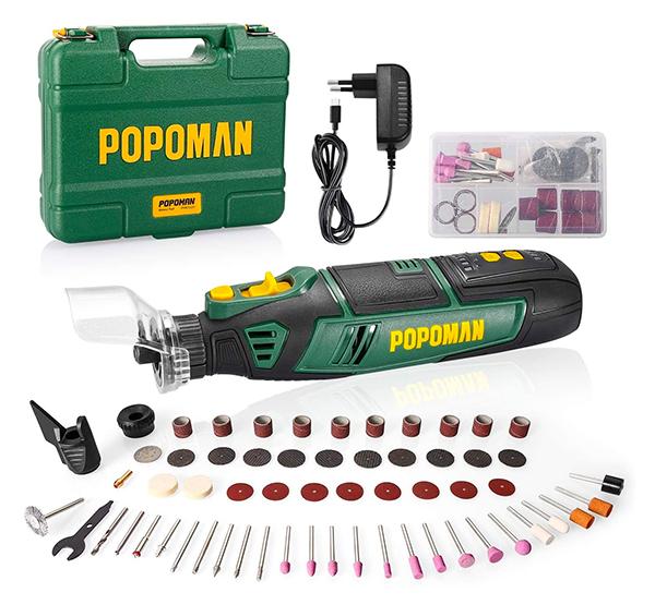 58-teiliges POPOMAN Akku Multifunktionswerkzeug für nur 34,99 Euro