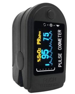 Grborn Fingerspitzenoximeter mit OLED-Display für 7,38 Euro