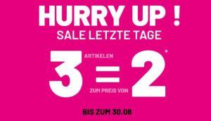 Noch bis Sonntag: Pimkie Sale mit 60% Rabatt und einem kostenlosen Artikel (Kauf 3, zahl 2)