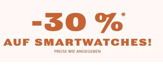 30% Rabatt auf alle Fossil Smartwatches