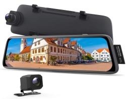 AUTO-VOX V5 Spiegel Dashcam mit GPS-Tracking und Rückfahrkamera für 90,99 Euro