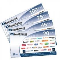 60,- Euro BestChoice Gutschein