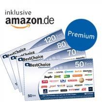 55,- Euro BestChoice Premium Gutschein