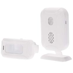 KKmoon Bewegungsmelder Alarm für Batterie oder Netzbetrieb für 8,99 Euro