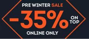 Nur noch heute: 35% Extra-Rabatt auf Winterartikel der Vorsaison bei SportScheck