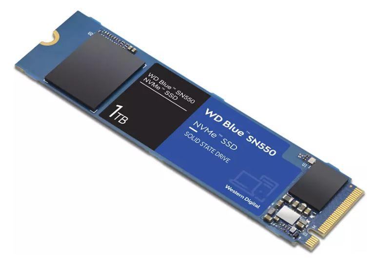 WD Blue SN550 NVMe 1 TB SSD intern für nur 71,99€ inkl. Versand