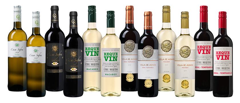 """Weinpaket """"Spanischer Sommer"""" (12 Flaschen – 6 verschiedene Weine) für nur 54,99 Euro"""
