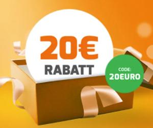 20€ Extra-Rabatt auf über 90 Weine bei Weinvorteil (MBW: 80€)