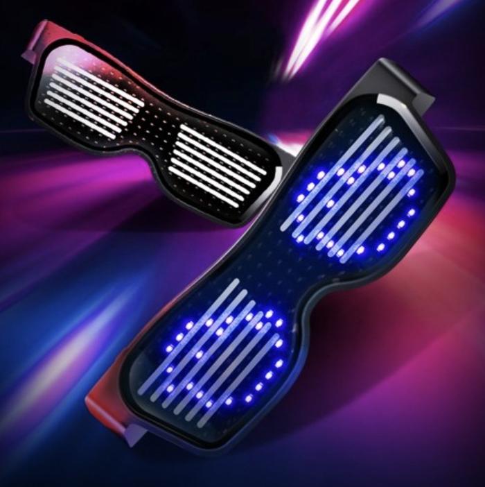 Bluetooth-LED-Brille mit APP Steuerung ab 13,34 Euro inkl. Versand