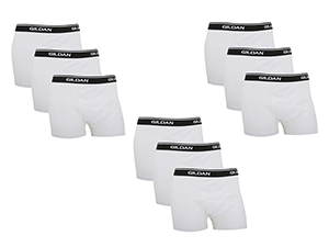 9er-Pack Gildan Premium Boxershort für nur 13,78 Euro (statt 27,- Euro)