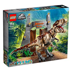 LEGO 75936 Jurassic World T-Rex' Verwüstung für nur 199,99 Euro