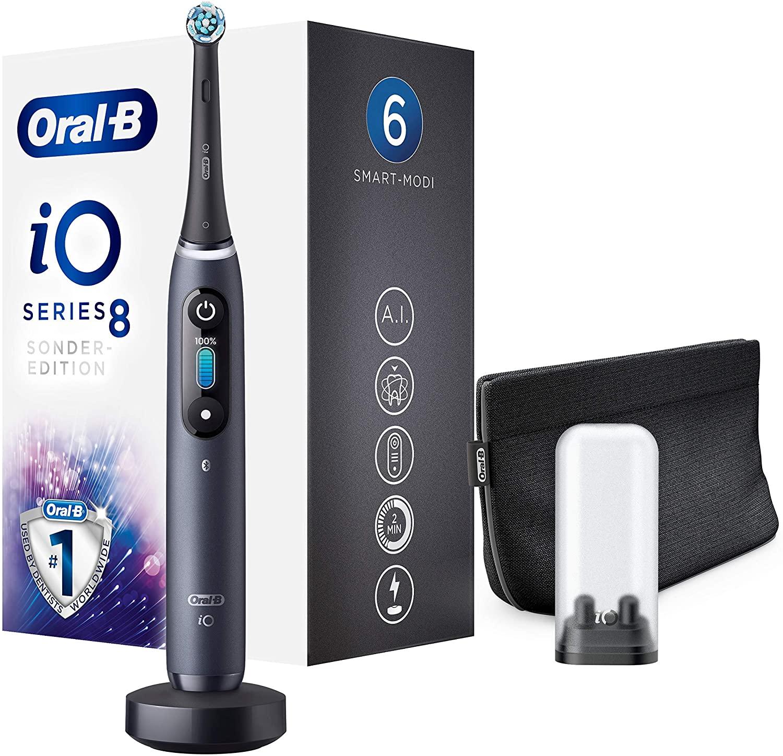 Oral-B iO 8 Special Edition Elektrische Zahnbürste in black onyx nur 155,50€