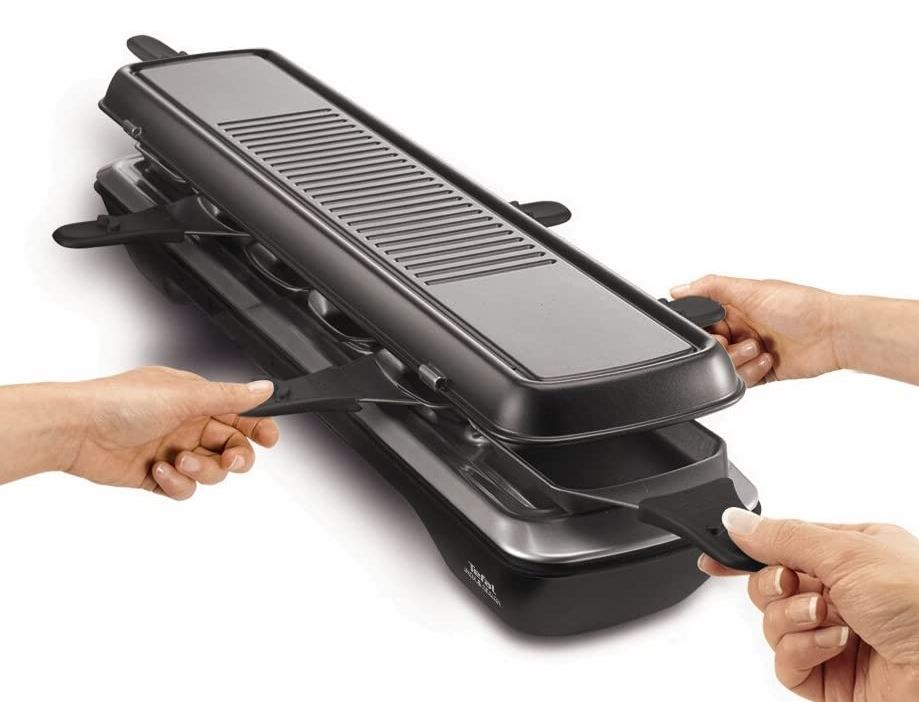 Tefal RE 5228 Raclette mit 6 Pfännchen für nur 39,- Euro inkl. Versand