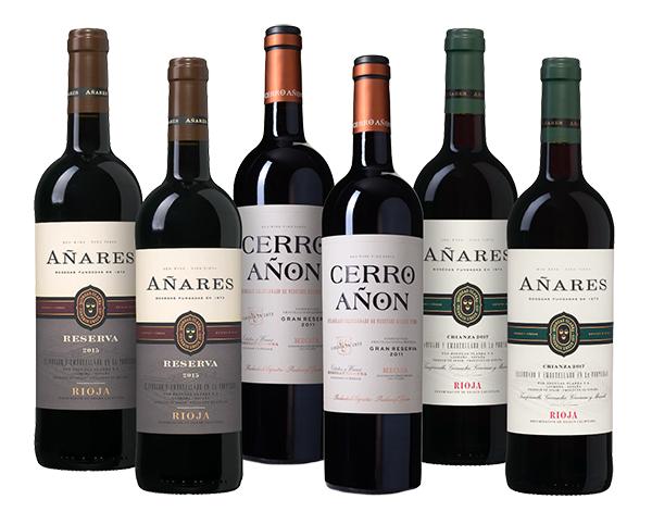 Rioja Weinpaket mit 6 Flaschen (3 Weine) für nur 48,89 Euro inkl. Versand