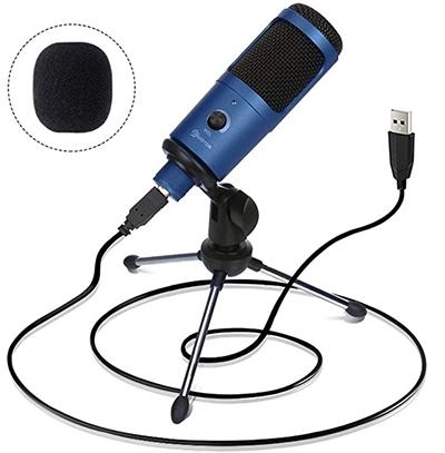 EIVOTOR USB Mikrofon für nur 16,11 Euro
