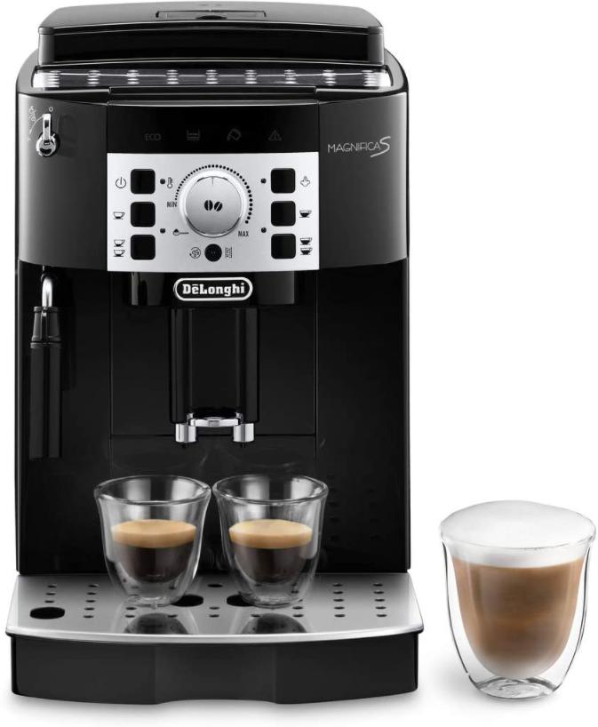 DeLonghi Magnifica S ECAM 22.110. B Kaffeevollautomat 1450 W Schwarz für nur 249,99 Euro inkl. Versand