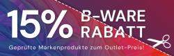 Bis 31. August wieder 15% Rabatt auf B-Ware Angebote bei Office-Partner