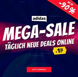 Adidas Mega Sale bei SportSpar mit bis zu 90% Rabatt