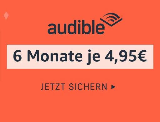 Audible Aktion bei Amazon
