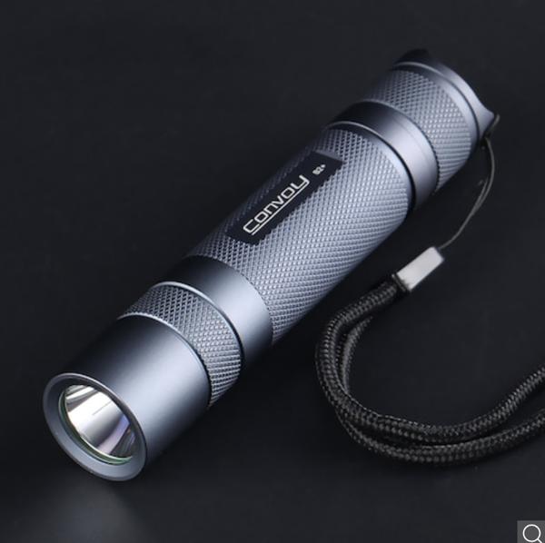 Convoy S2+ SST40 LED-Taschenlampe 1800lm 5000/6500K für 13,10 Euro inkl. Versand
