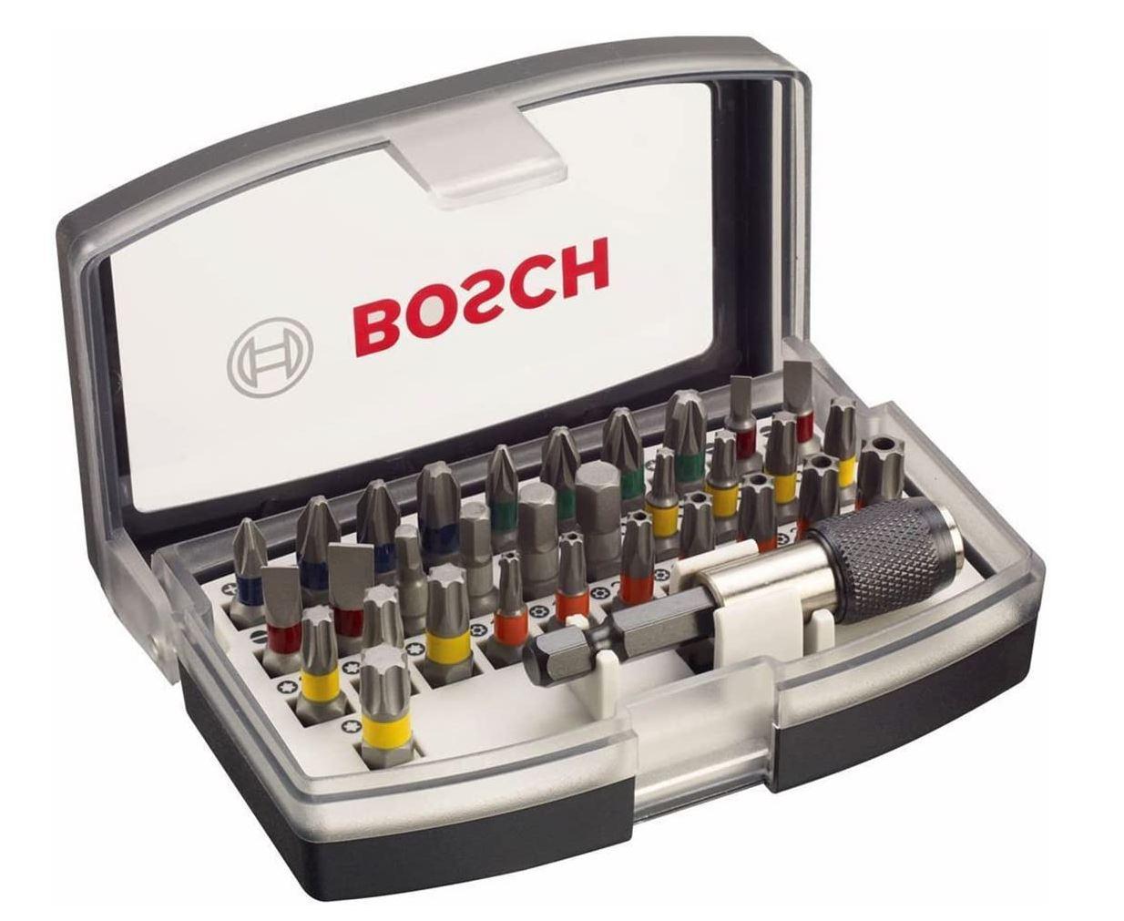 Bosch Professional 32tlg. Schrauberbit Set für nur 7,99€ inkl. Prime-Versand