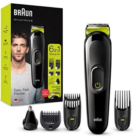 Braun 6-in-1 Multi-Grooming-Kit 3 MGK3221 für nur 20,41€ inkl. Versand