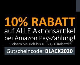 10% Rabatt auf ausgewählte Artikel mit Bezahlung per AmazonPay bei Computeruniverse