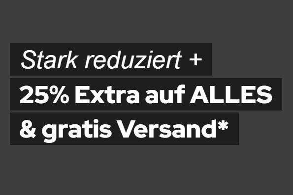 25% Extrarabatt auf alle Artikel bei Dress-for-Less + versandkostenfreie Lieferung