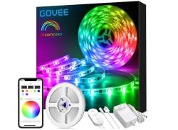 Govee H61273A2DE 5m RGB LED Strip mit App Steuerung für nur 22,99€