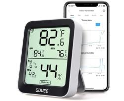 Govee H5075001DE Smart Thermometer/Hygrometer mit App für 10,39€