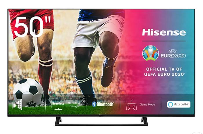 Hisense 50AE7200F 50 Zoll 4K UHD LED Smart TV für nur 299,- Euro