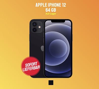 Apple iPhone 12 (64 GB) + o2 Free L Boost Tarif mit 120 GB 5G/LTE für nur 49,99 Euro mtl. und einmalig 99,- Euro Zuzahlung