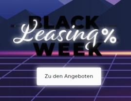 Black Leasing Week mit vielen verschiedenen Leasingdeals bei Vehiculum