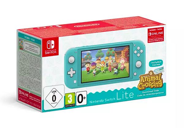Top! NINTENDO Switch Lite inkl. Animal Crossing ab nur 212,- Euro
