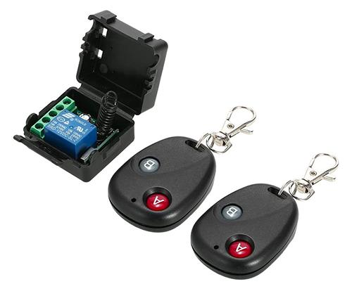 Doppelpack OWSOO Universal 433 MHz Funkfernbedienung mit Empfänger für nur 9,29 Euro inkl. Prime-Versand