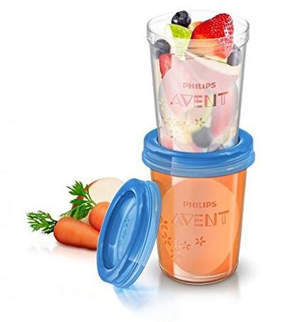 10er Pack Philips Avent SCF721/20 Babynahrung Aufbewahrungsbecher (10×180 ml, 10x 240 ml) für nur 13,58 Euro