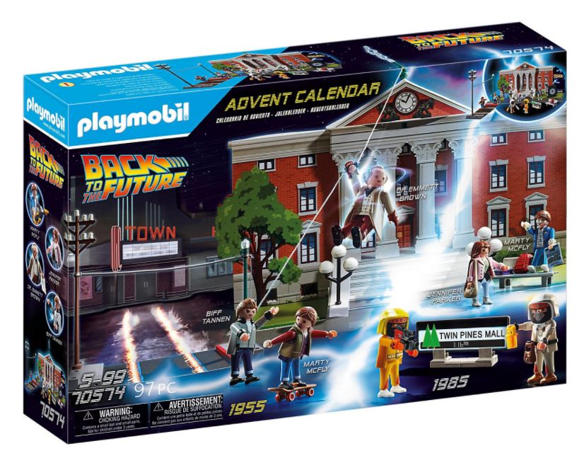 "PLAYMOBIL 70574 Adventskalender ""Back to the Future"" für nur 17,44 Euro inkl. Versand"