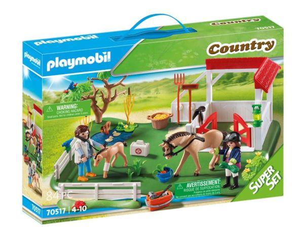 Playmobil SuperSet Koppel mit Pferdebox für nur 24,30 Euro inkl. Versand