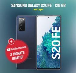 Samsung Galaxy S20FE 128GB + o2 Blue All-In M LTE Tarif mit 12GB für 19,99€ mtl. und einmalig 4,95€ Zuzahlung