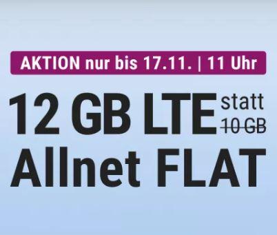 12 GB LTE Allnet Flat für 14,99 Euro monatlich – die Simplytel LTE Allnet-Flat 10.000