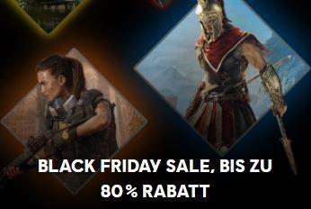 Black Sale bei Ubisoft