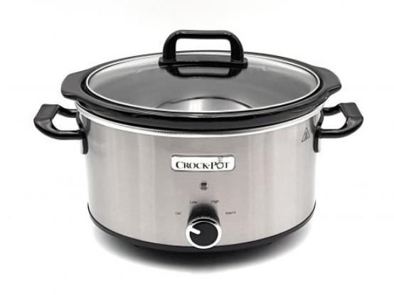 Crock-Pot CSC025X Schongarer Slow Cooker Chrom 3.5l Edelstahl 2-3 Personen für nur 46,99 Euro inkl. Versand