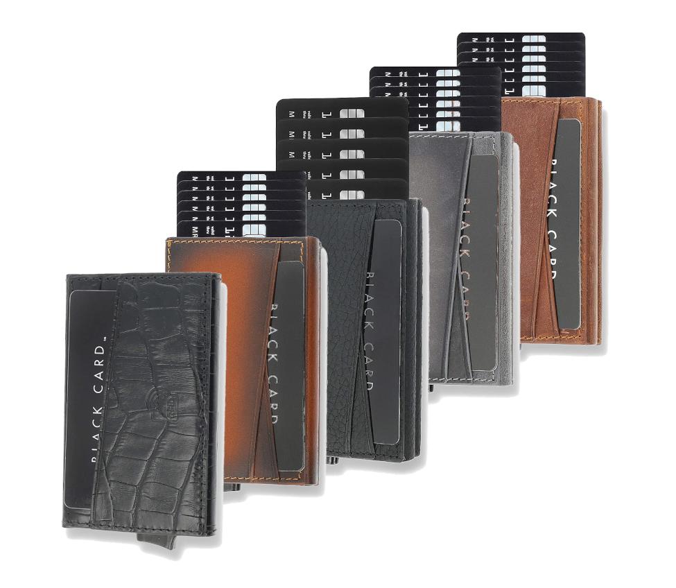 Solo Pelle Kreditkarten Leder Geldbörse mit RFID Schutz für bis zu 8 Karten mit Münzfach für nur 24,90 Euro inkl. Versand