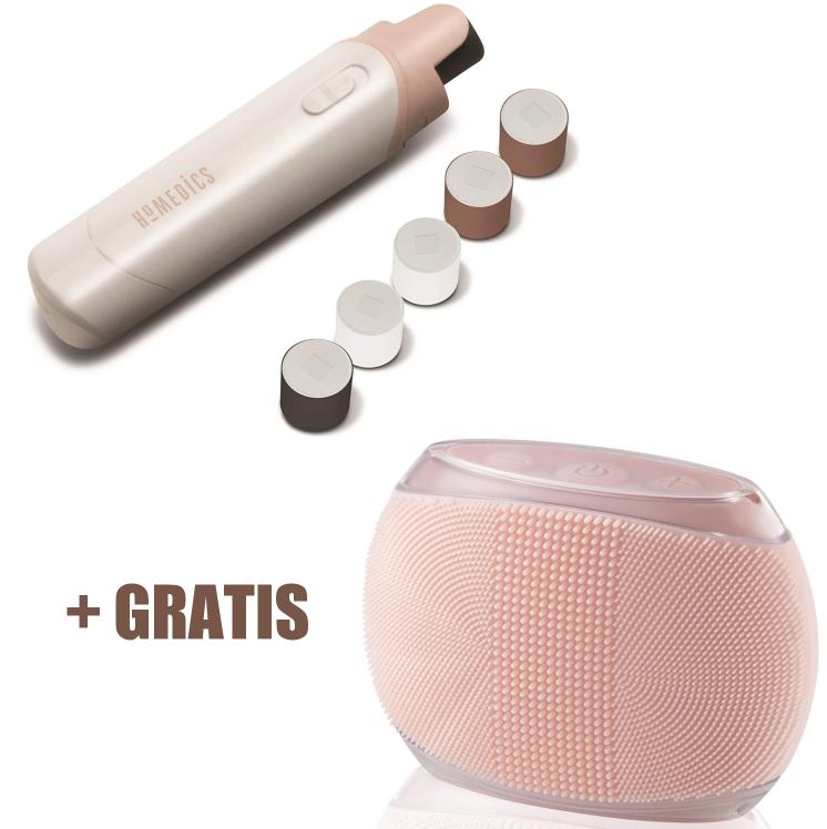 HoMedics Nägelset + HoMedics Blossom, Körperreinigungsbürste aus medizinischem Silikon für nur 24,99 Euro inkl. Versand