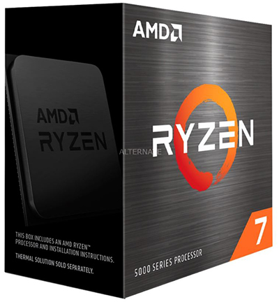 AMD Ryzen 7 5800X Boxed für 509,- Euro inkl. Versand