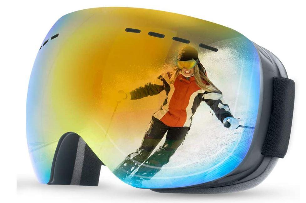 ANYUKE spiegelbeschichtete Skibrille für nur 9,49 Euro