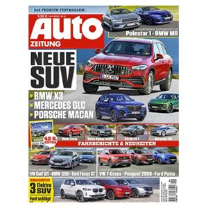 """Knaller! Halbjahresabo """"Auto ZEITUNG"""" nur 48,75€ – als Prämie: 50€ BestChoice Gutschein"""